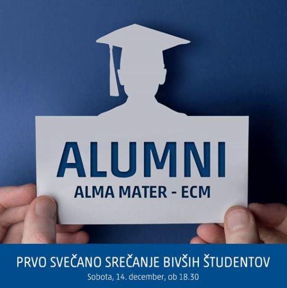 [VABILO] prvo svečano srečanje Alumni kluba Alma Mater