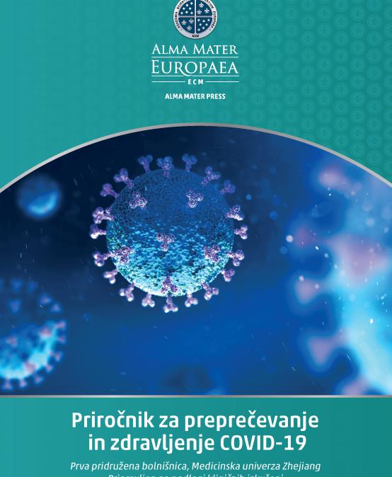 Alma Mater press izdala Priročnik za preprečevanje in zdravljenje COVID-19